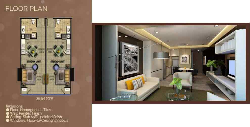 27 Annapolis - Studio Floor Plan