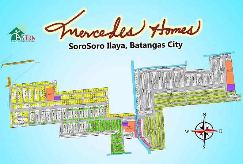 Mercedes Homes Soro Soro - Site Development Plan