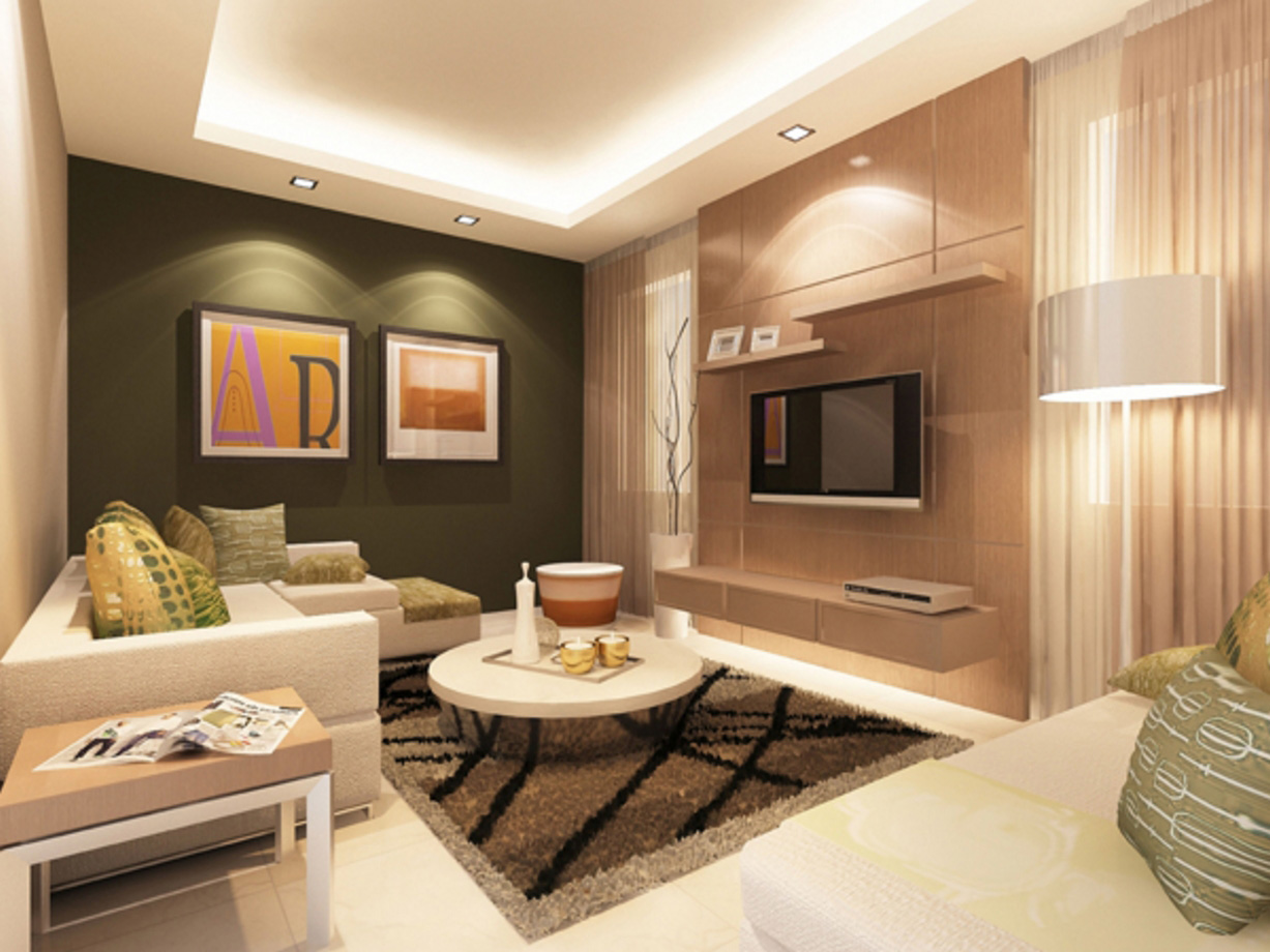 Centrina Eleganza Residences - Living Room