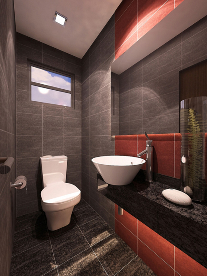 Centrina Eleganza Residences - Powder Room