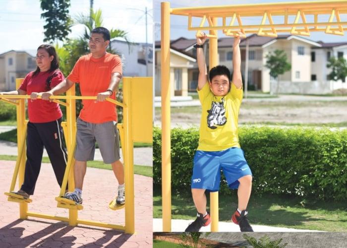 Fiesta Communities Asinan - Outdoor Gym Equipments