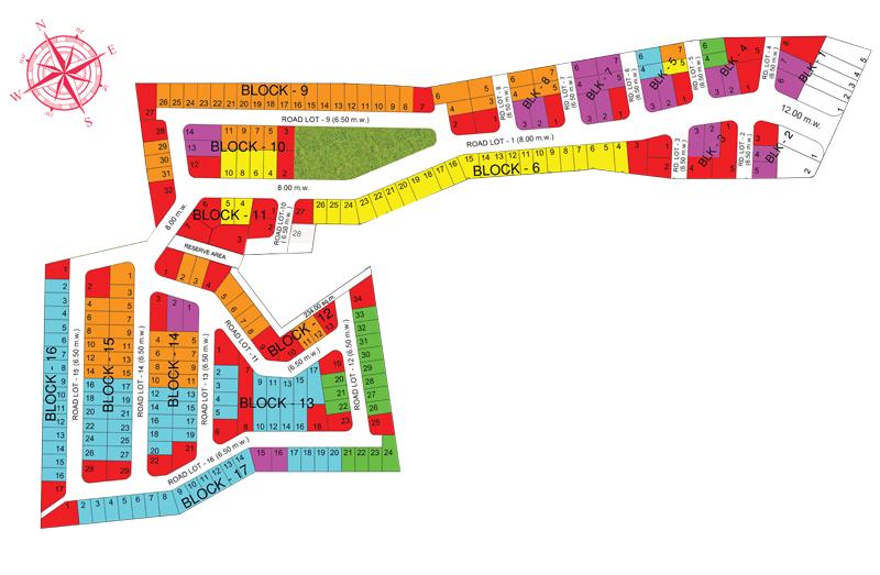 Fiesta Communities Asinan - Subdivision Plan