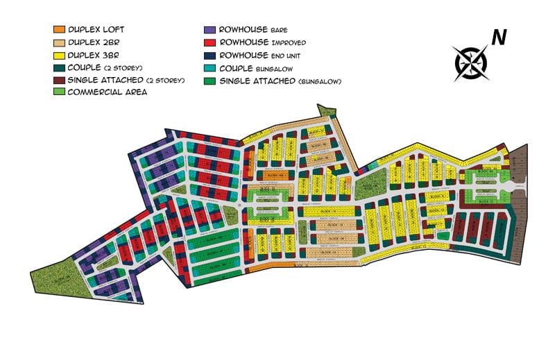 Fiesta Communities Castillejos - Subdivision Map