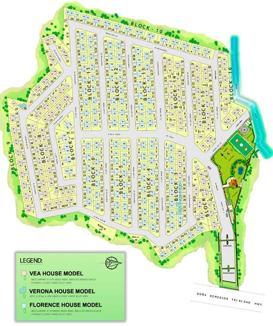 Paseo De San Roque Village - Site Development Plan