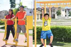 Fiesta Communities Dapdap - Outdoor Gym Equipments