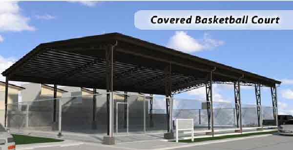Silverdale Residences - Basketball Court