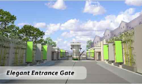 Silverdale Residences - Entrance Gate