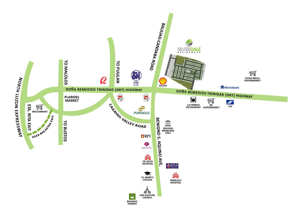 Silverdale Residences - Location & Vicinity