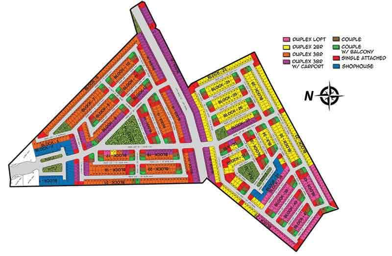 Fiesta Communities Mining - Subdivision Map