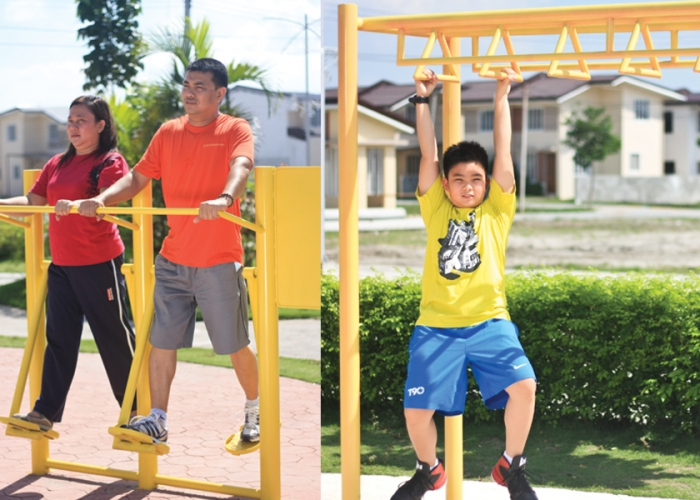 Fiesta Communities Subic - Outdoor Gym Equipments