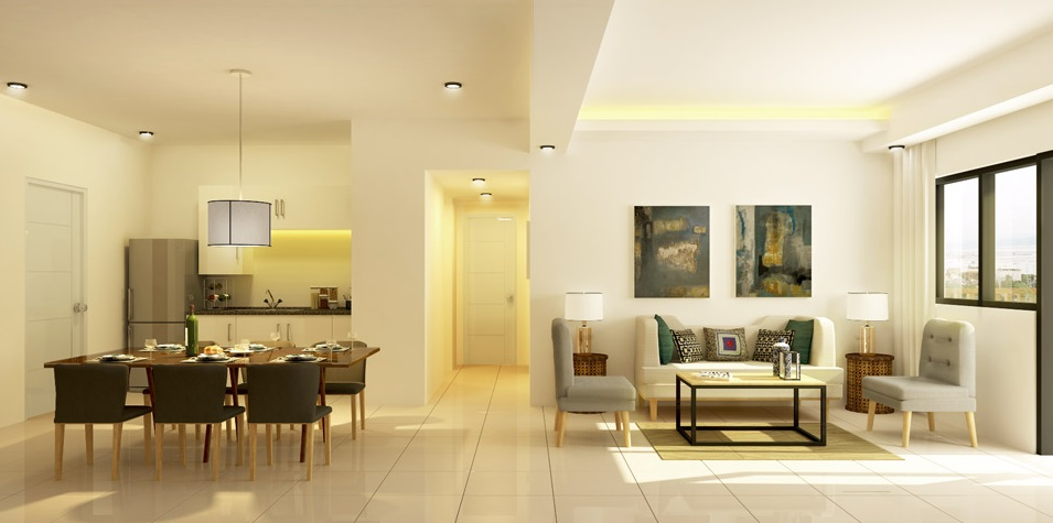 East Bay Residences - 3 BR Living Area