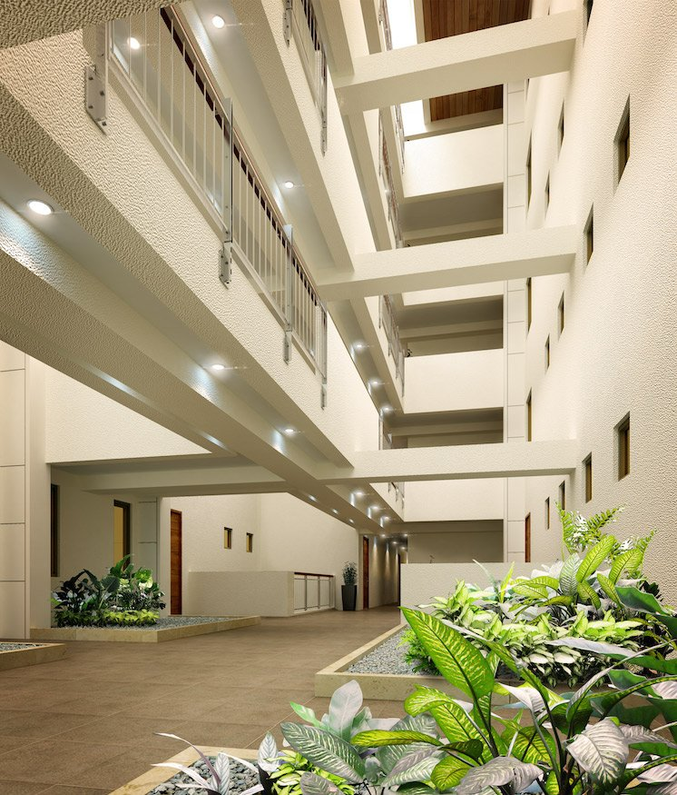 East Bay Residences - Floating Corridors