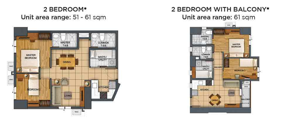 The Vantage - 2 Bedroom Unit