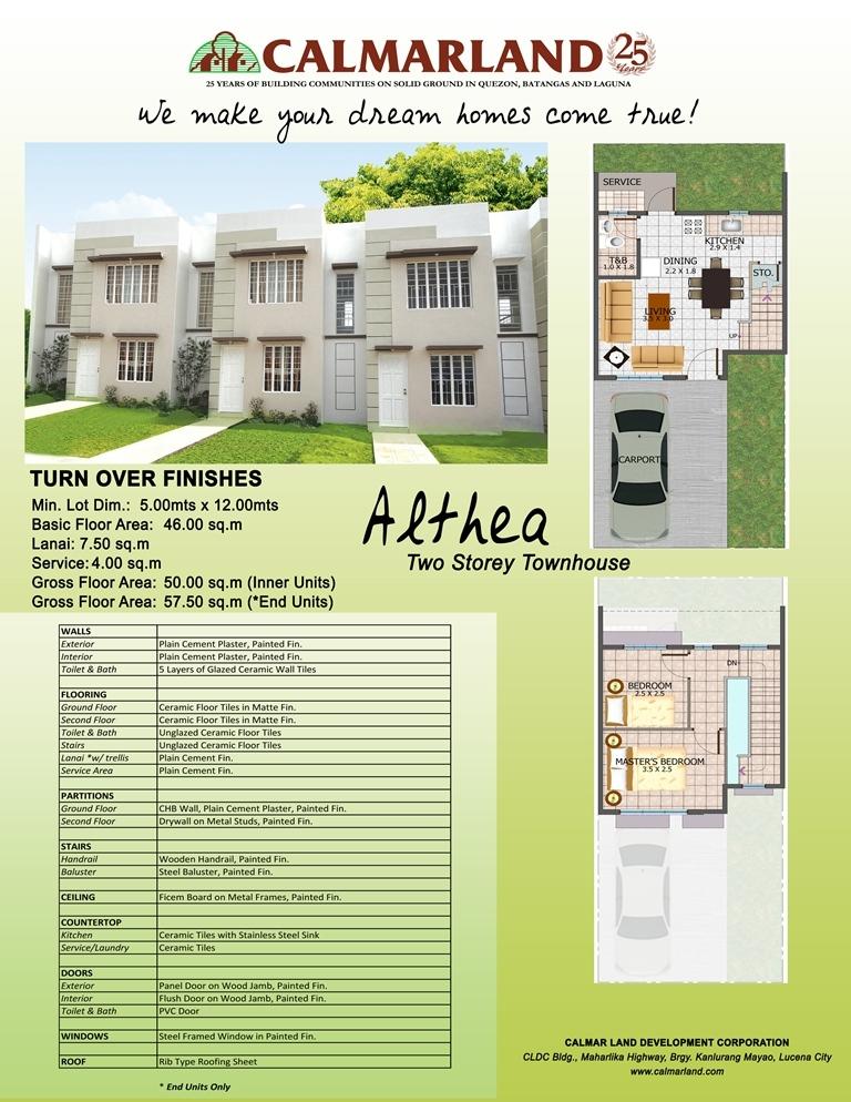 Tierra Verde - Althea Townhouse