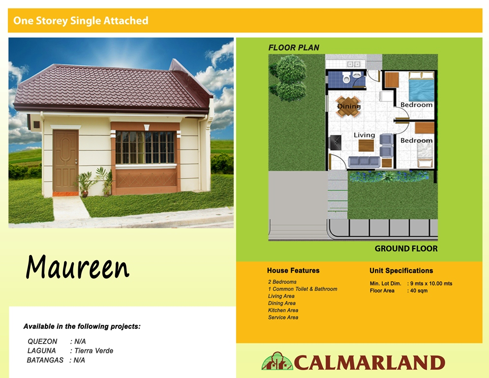Calmar Bay Homes - Maureen Single Attached