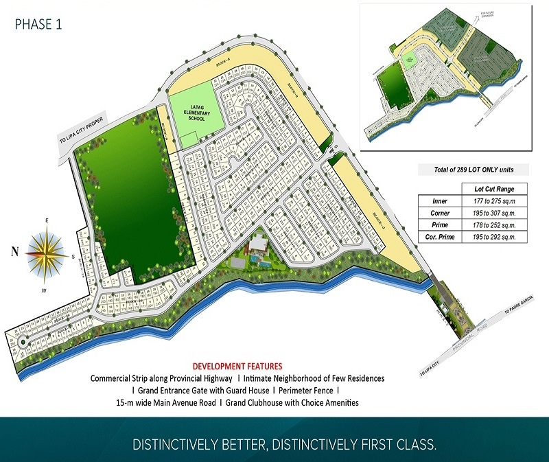 Neviare - Site Development Plan - Phase