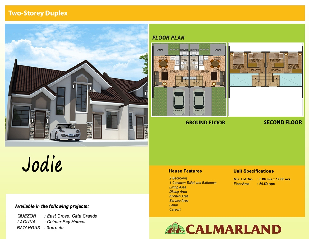 Calmar Homes - Jodie (2-Storey)