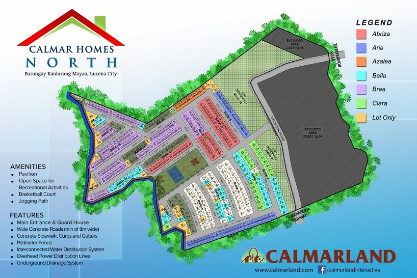 Calmar Homes North - Site Development Plan