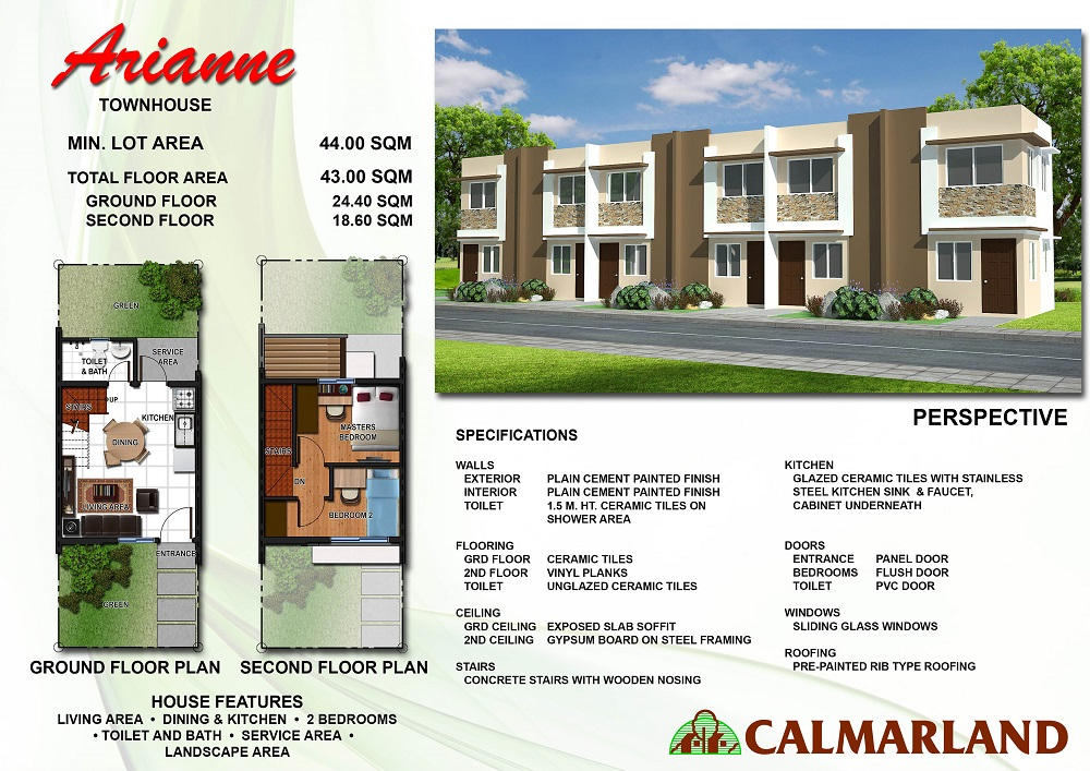 Cosmopolitan Homes   Arianne Townhouse. Arianne Townhouse