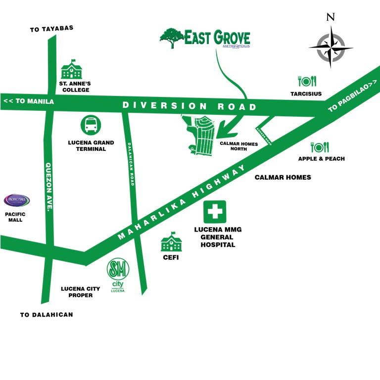 East Grove - Location & Vicinity