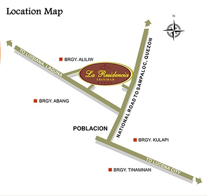 La Residencia Trinidad - Location & Vicinity