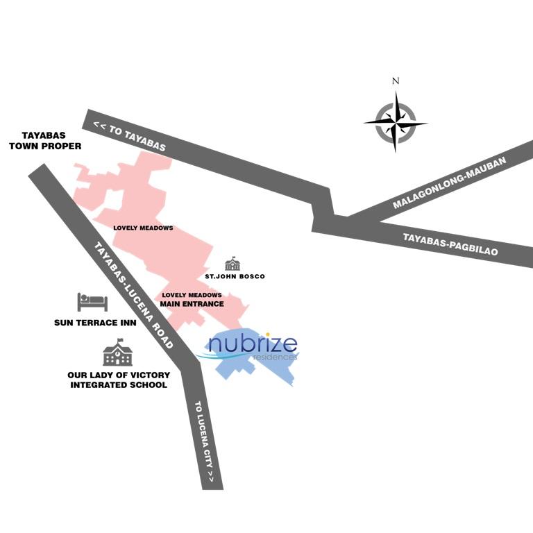 Nubrize - Location & Vicinity