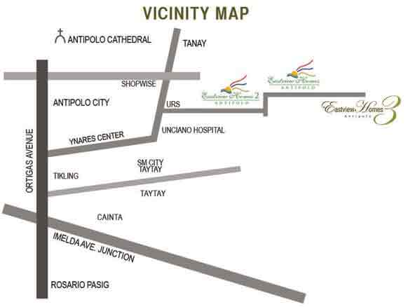 Eastview Homes 3 - Location & Vicinity
