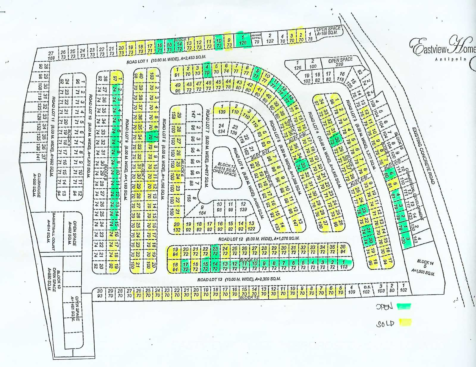Eastview Homes 3 - Site Development Plan