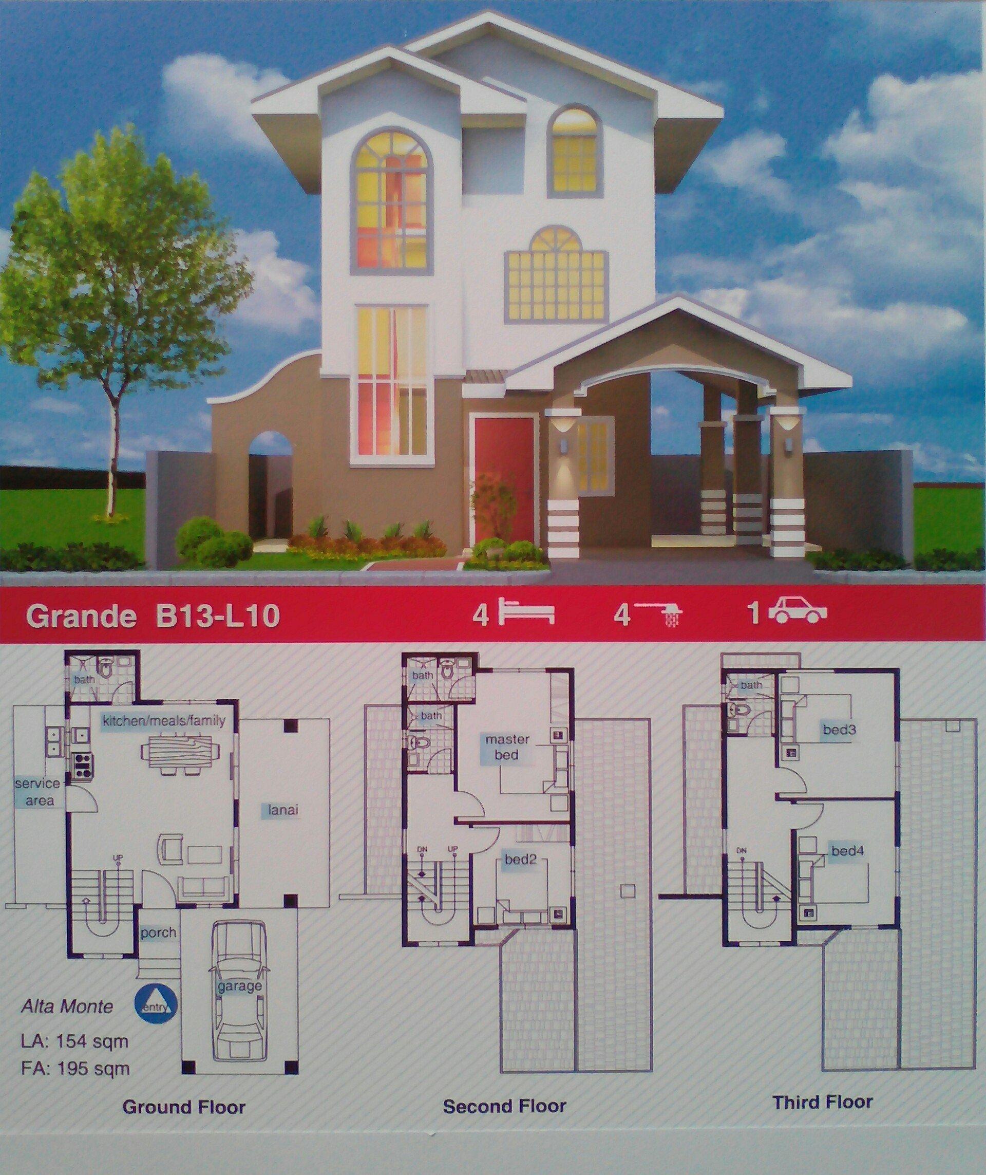 Alta Monte Tagaytay - Floor Plan