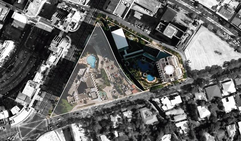 Park Central Towers  - Site Development Plan