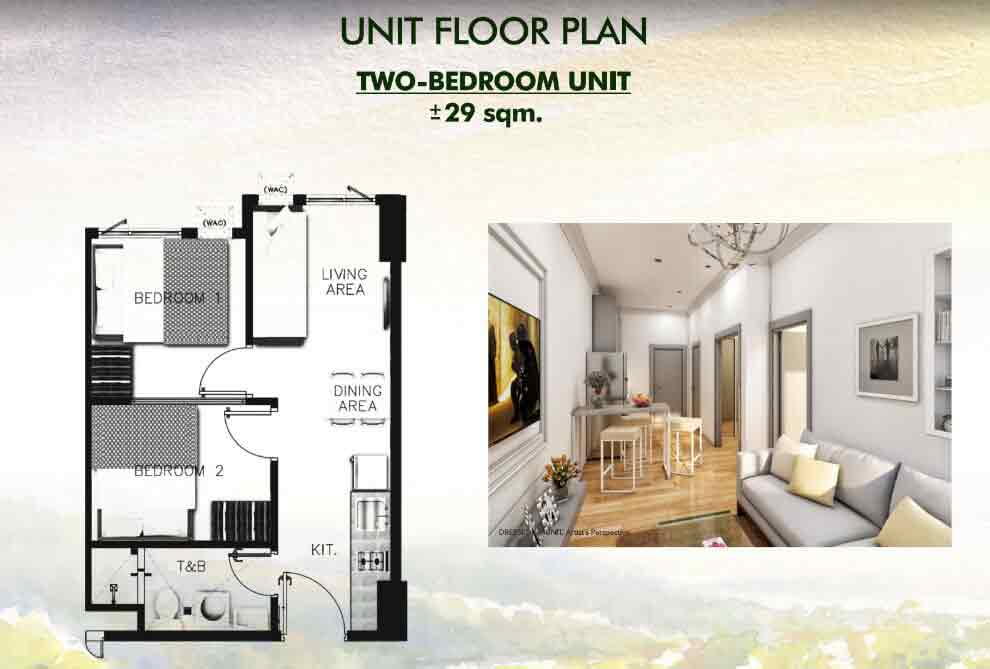 Vine Residences - Two Bedroom Unit