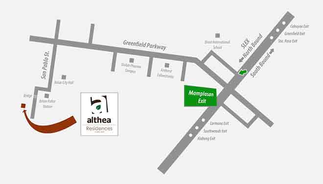 Althea Residences - Location & Vicinity