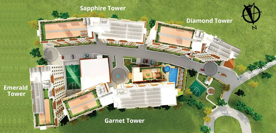 Lancris Residences - Site Development Plan