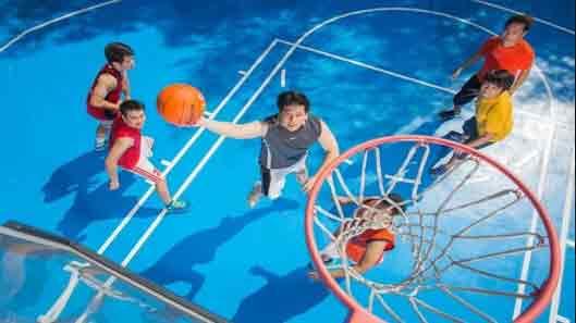 Lancris Residences - Basketball Court