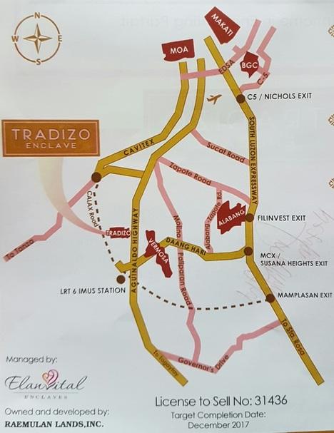 Tradizo Enclave - Location & Vicinity