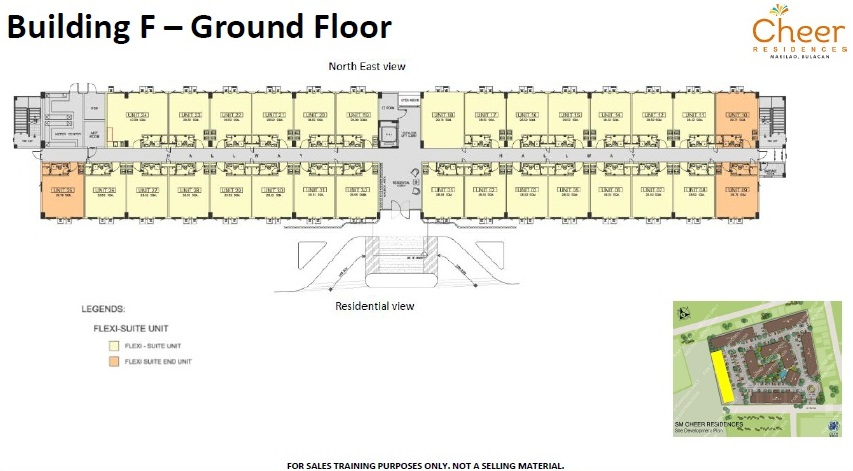 Cheer Residences - Building F - Ground Floor
