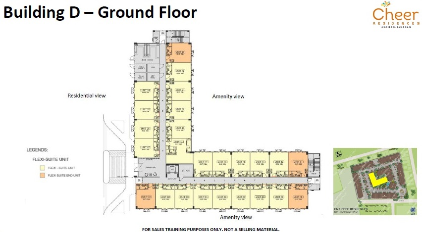 Cheer Residences - Building D - Ground Floor