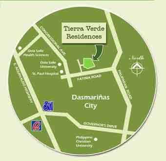 Tierra Verde Residences - Location & Vicinity