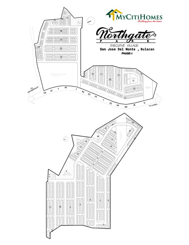 Northgate Park Executive Homes  - Site Development Plan