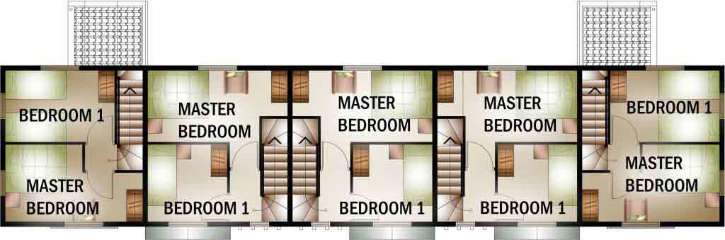 Residencia De Muzon - Floor Plan