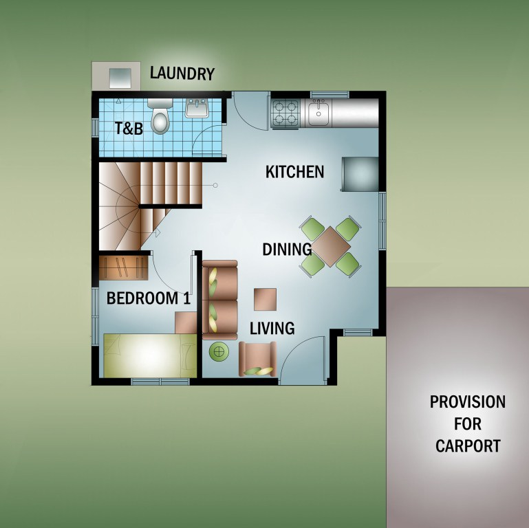Residencia De Muzon - Floor Plan