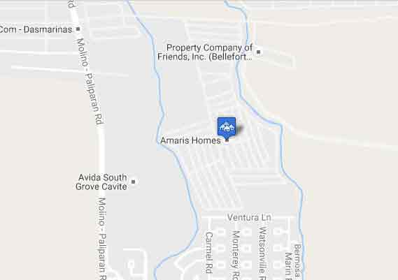 Amaris Homes  - Location & Vicinity