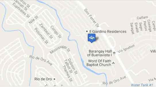 Il Giardino Residences - Location & Vicinity
