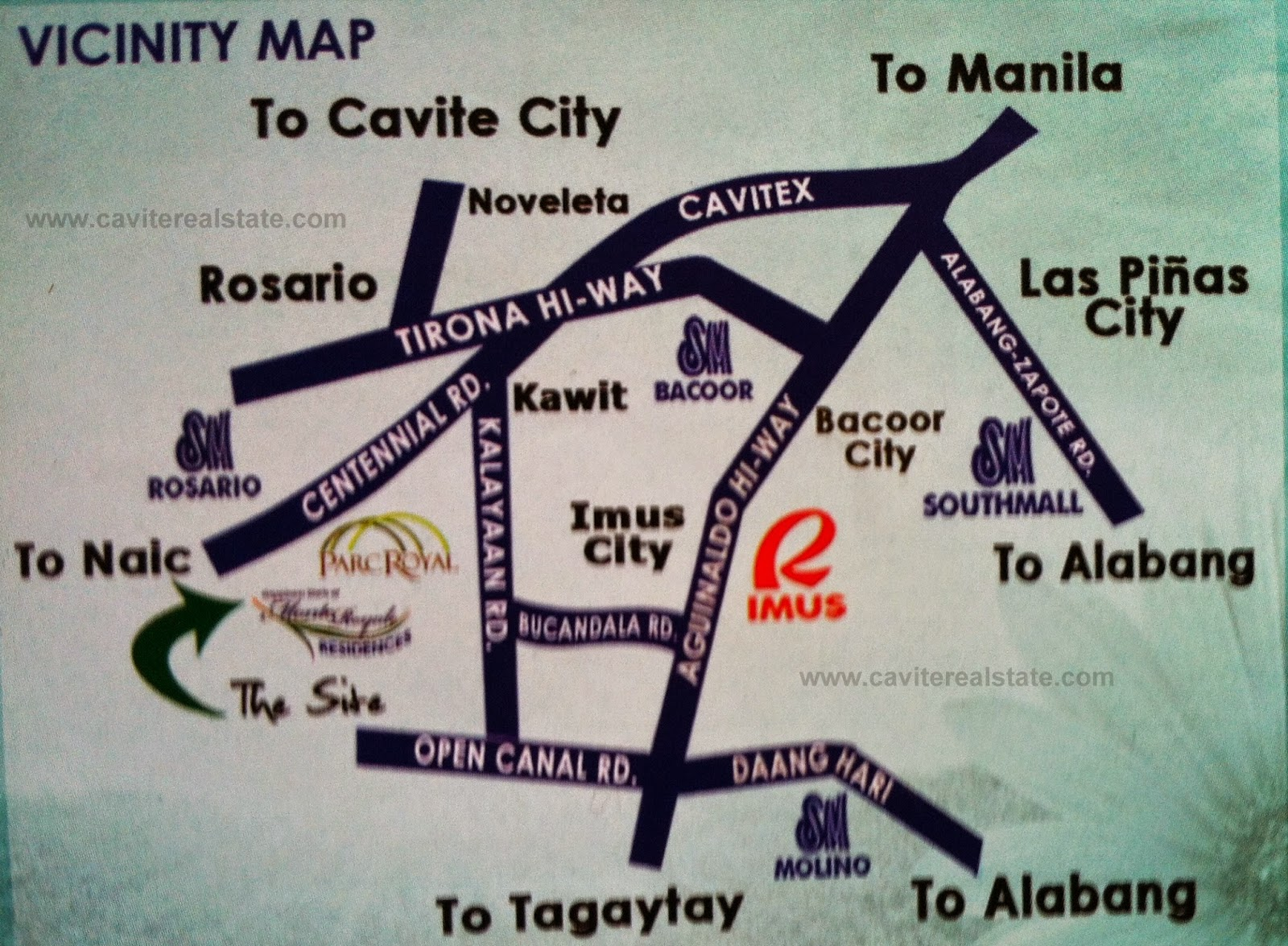 Monte Royale Residences - Location & Vicinity