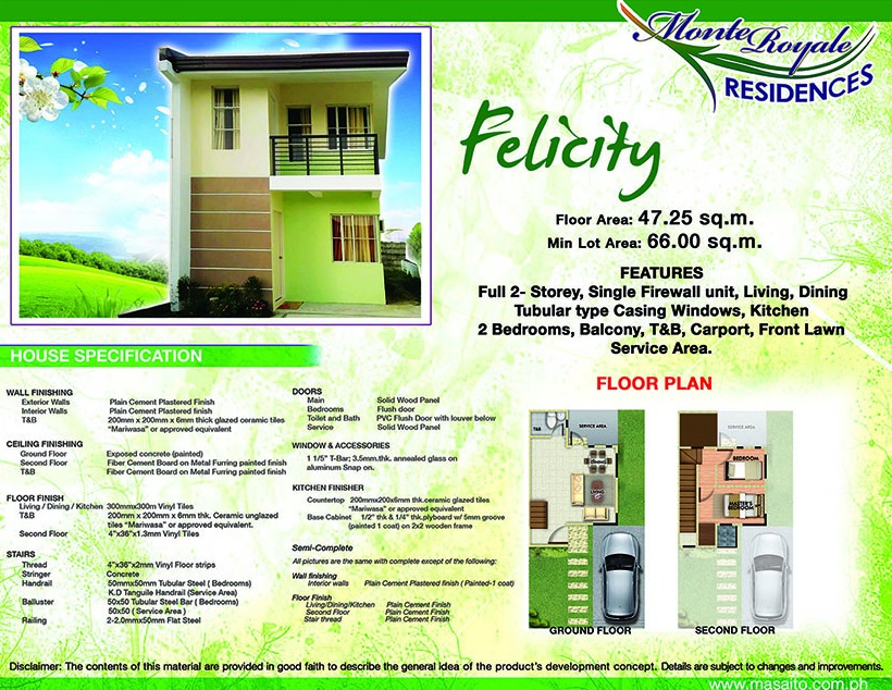 Monte Royale Residences - House Model