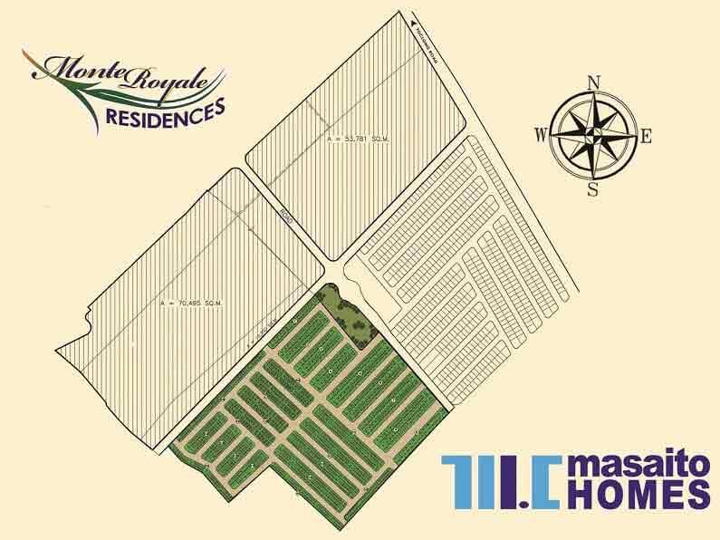 Monte Royale Residences - Site Development Plan