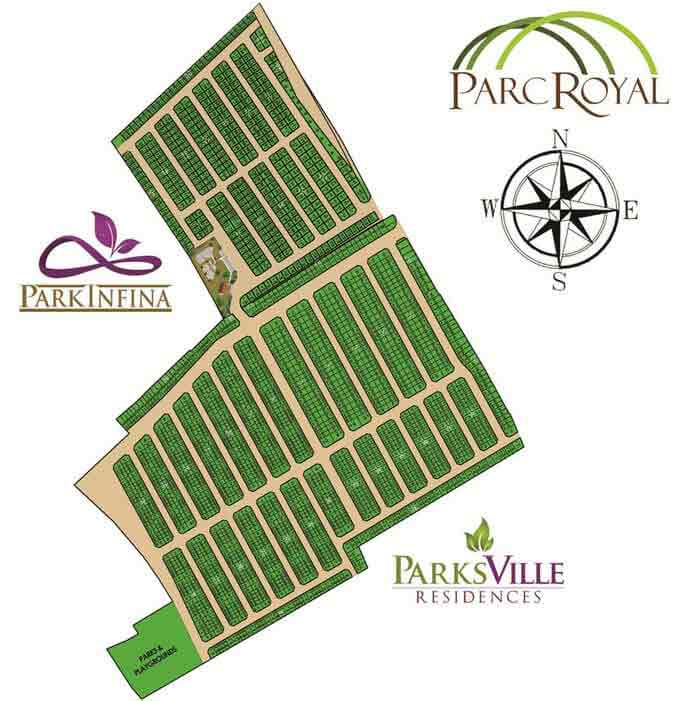 Park Infina At Parc Royal - Site Development Plan