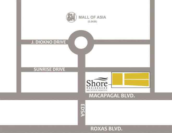 Shore 3 Residences - Location & Vicinity