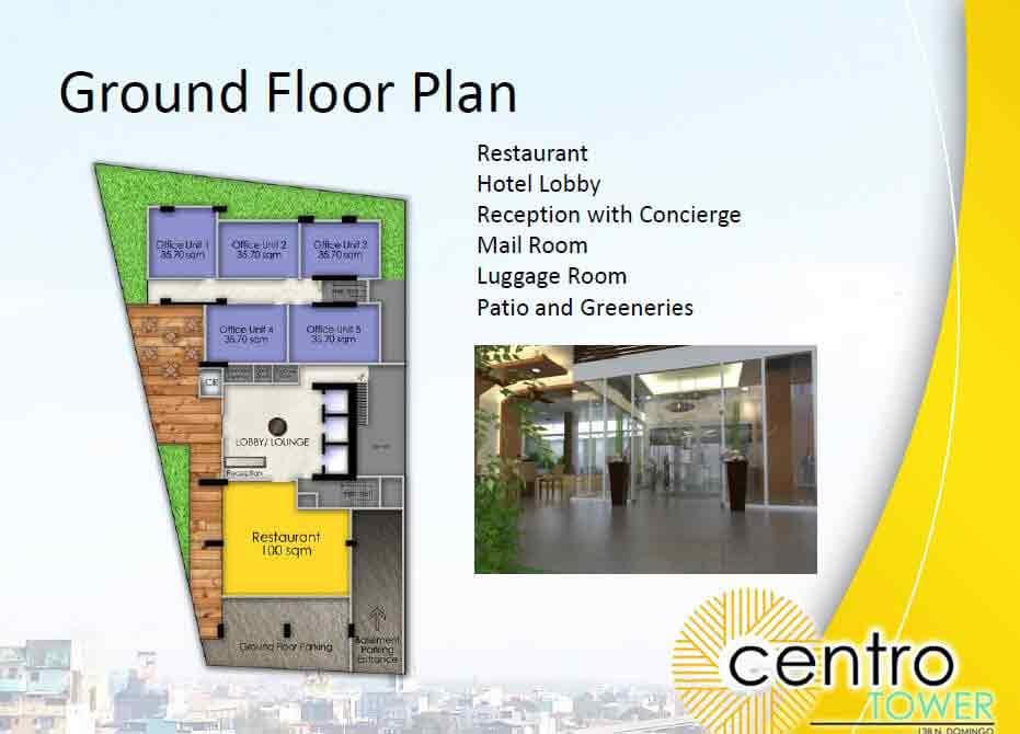 Arezzo Place - Ground Floor Plan