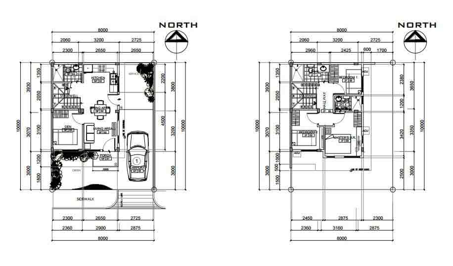 Diamond Heights - Floor Plan